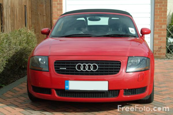Picture of Audi TT Roadster - Free Pictures - FreeFoto.com