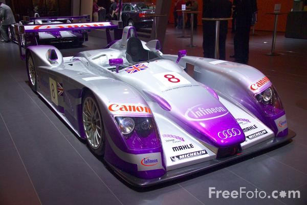 Picture of Infineon Audi R8 Racing Car - Free Pictures - FreeFoto.com