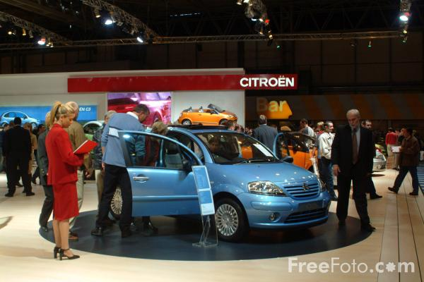Picture of Citroen, Birmingham International Motor Show 2002 - Free Pictures - FreeFoto.com