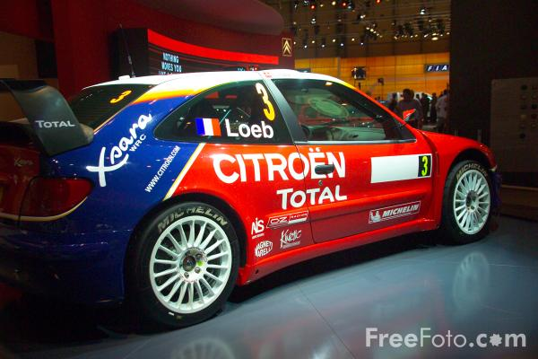 Picture of Citroen Xsara T4 WRC Rally Car - Free Pictures - FreeFoto.com