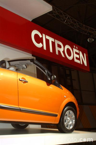 Picture of Citroen Pluriel, Birmingham International Motor Show 2002 - Free Pictures - FreeFoto.com