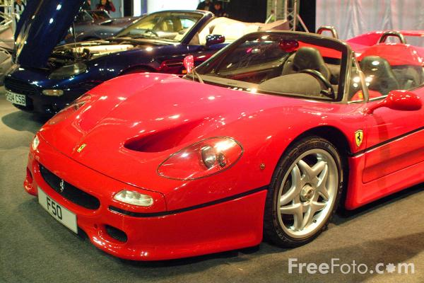 Picture of Ferrari - Free Pictures - FreeFoto.com