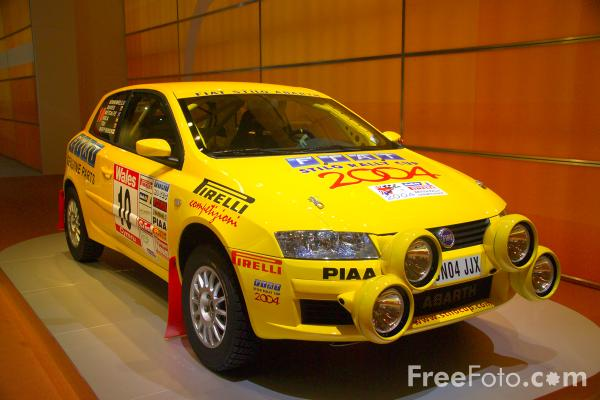 Picture of Fiat Stilo Rally Car - Free Pictures - FreeFoto.com