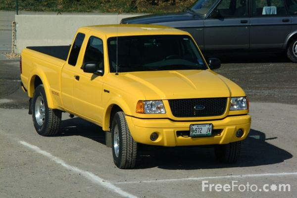 Picture of Ford Ranger compact pickup - Free Pictures - FreeFoto.com