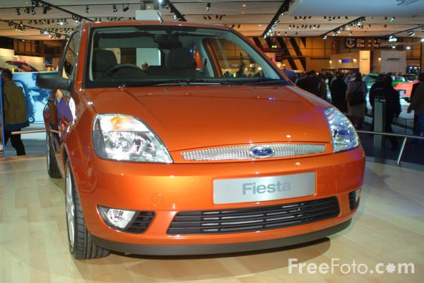 Picture of Ford Fiesta, Birmingham International Motor Show 2002 - Free Pictures - FreeFoto.com