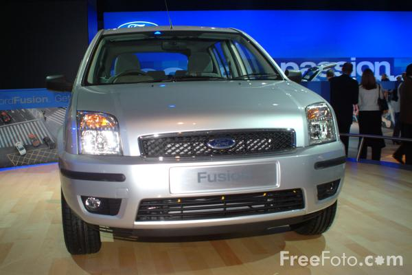 Picture of Ford Fusion, Birmingham International Motor Show 2002 - Free Pictures - FreeFoto.com