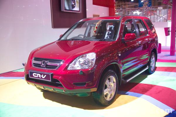 Picture of Honda CR-V - Free Pictures - FreeFoto.com