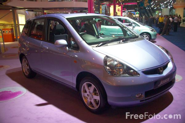 Picture of Honda Jazz - Free Pictures - FreeFoto.com