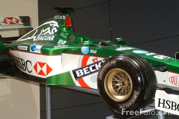 Picture of Jaguar F1 Racing Car, Birmingham International Motor Show 2002 - Free Pictures - FreeFoto.com
