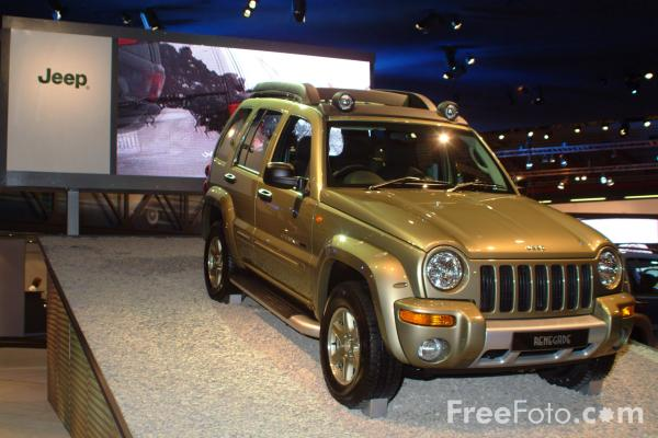 Picture of Jeep Renegade, Birmingham International Motor Show 2002 - Free Pictures - FreeFoto.com