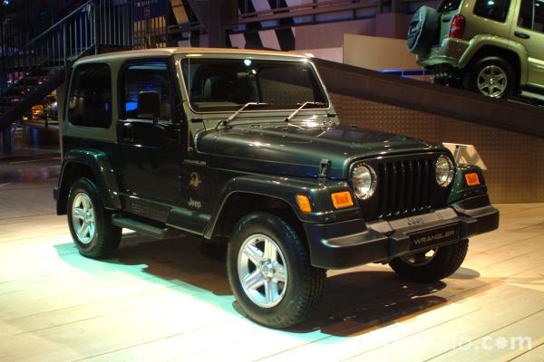 Picture of Jeep Wrangler, Birmingham International Motor Show 2002 - Free Pictures - FreeFoto.com