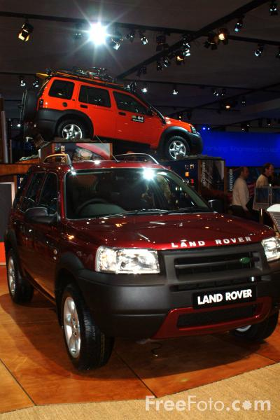 Picture of Land Rover, Birmingham International Motor Show 2002 - Free Pictures - FreeFoto.com