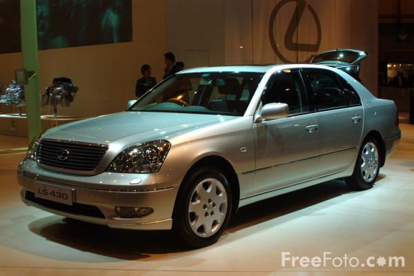 Picture of Lexus LS 430 - Free Pictures - FreeFoto.com