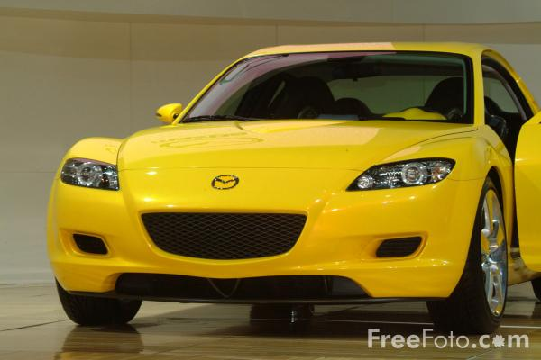 Picture of Mazda RX-8, Birmingham International Motor Show 2002 - Free Pictures - FreeFoto.com
