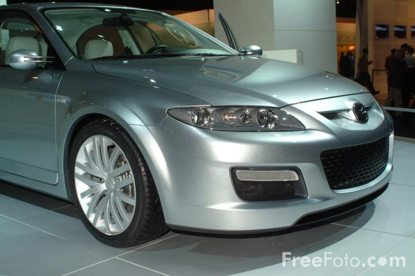 Picture of Mazda MPS Concept, Birmingham International Motor Show 2002 - Free Pictures - FreeFoto.com
