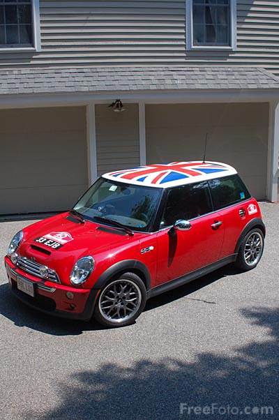 Red Mini Cooper pictures, free use image, 29-25-67 by ...