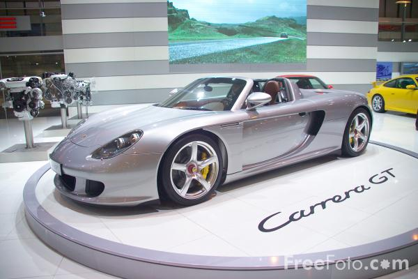 Picture of Porsche Carrera GT - Free Pictures - FreeFoto.com
