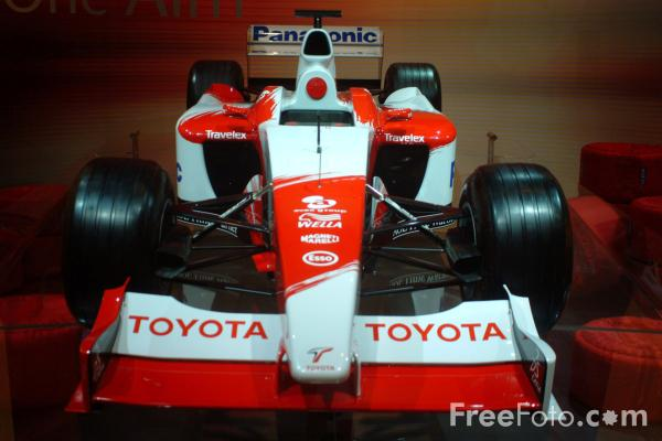 Picture of Toyota Grand Prix Car - Free Pictures - FreeFoto.com