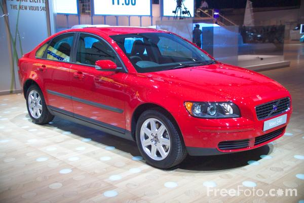 Picture of Volvo S40 - Free Pictures - FreeFoto.com