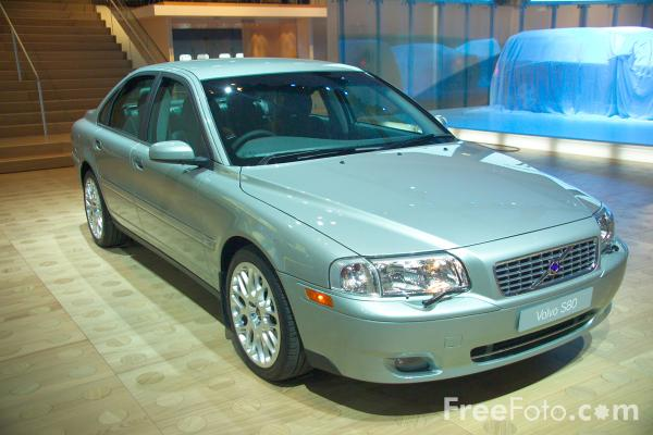 Picture of Volvo S80 - Free Pictures - FreeFoto.com