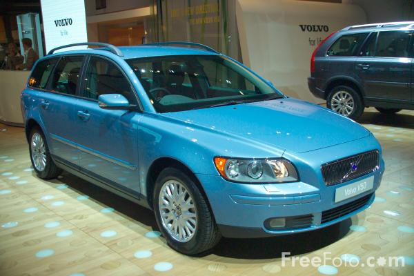 Picture of Volvo V50 - Free Pictures - FreeFoto.com