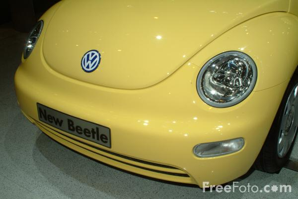 Picture of VW Beetle, Birmingham International Motor Show 2002 - Free Pictures - FreeFoto.com