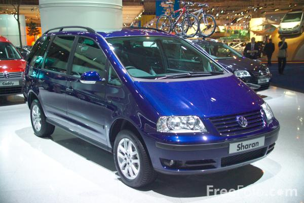 Picture of Volkswagen Sharan - Free Pictures - FreeFoto.com
