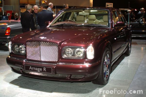Picture of Bentley Arnage R, Birmingham International Motor Show 2002 - Free Pictures - FreeFoto.com