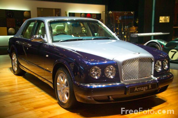 Picture of Bentley Arnage R - Free Pictures - FreeFoto.com