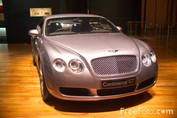 Picture of Bentley Continental GT - Free Pictures - FreeFoto.com