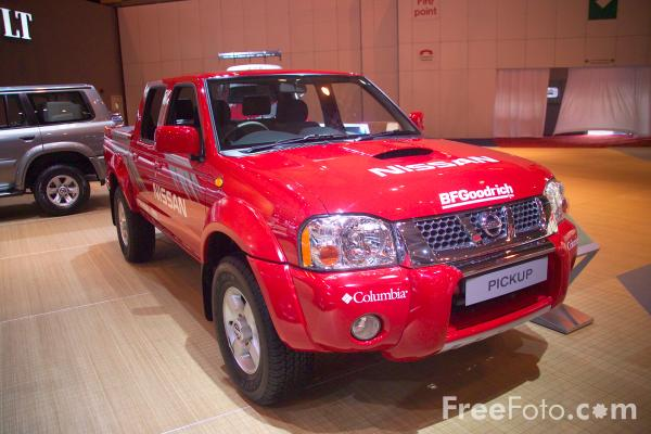 Picture of Nissan Pickup - Free Pictures - FreeFoto.com