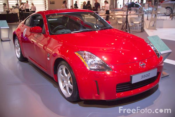 Picture of Nissan 350Z - Free Pictures - FreeFoto.com