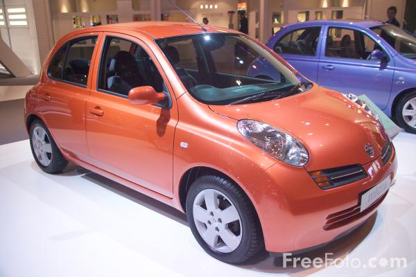 Picture of New Nissan Micra - Free Pictures - FreeFoto.com