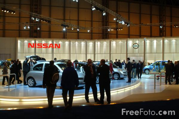 Picture of Nissan, Birmingham International Motor Show 2002 - Free Pictures - FreeFoto.com
