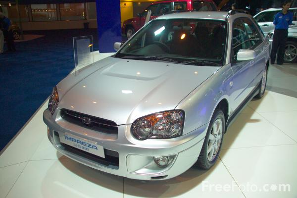 Picture of Subaru Forester - Free Pictures - FreeFoto.com