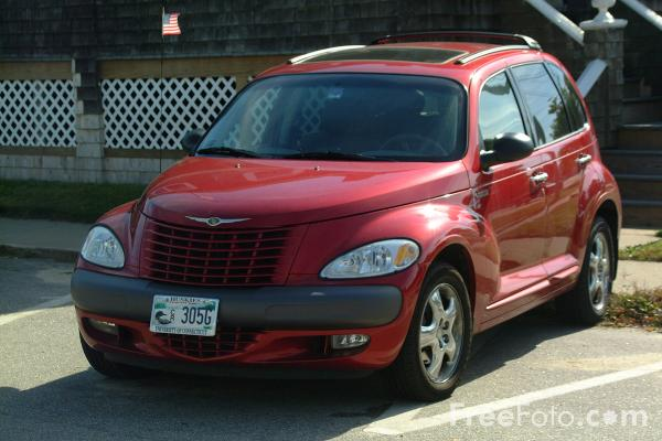 Picture of Chrysler PT Cruiser - Free Pictures - FreeFoto.com