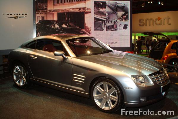 Picture of Chrysler Crossfire, Birmingham International Motor Show 2002 - Free Pictures - FreeFoto.com