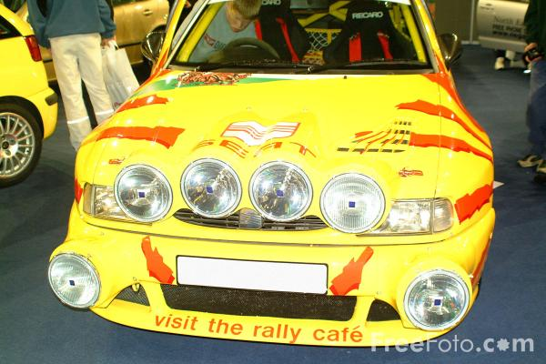 Picture of Seat Rally Car - Free Pictures - FreeFoto.com