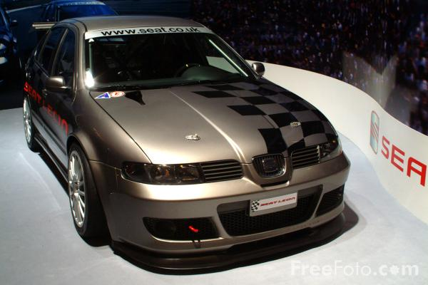 Picture of Seat Leon Rally Car - Free Pictures - FreeFoto.com