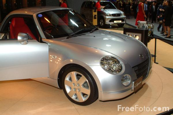 Picture of Daihatsu Copen, Birmingham International Motor Show 2002 - Free Pictures - FreeFoto.com