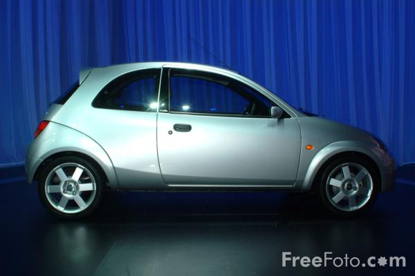 Picture of Ford Sportka, Birmingham International Motor Show 2002 - Free Pictures - FreeFoto.com