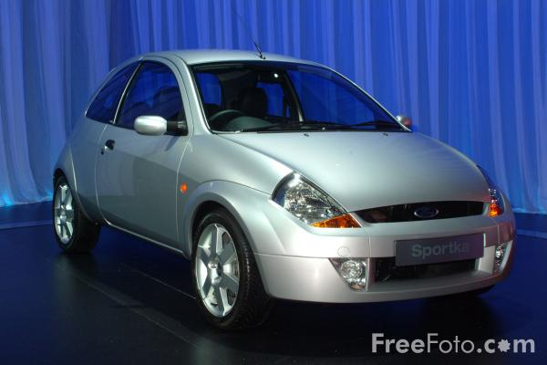 Picture of Ford Sportka, Birmingham International Motor Show 2002 - Free