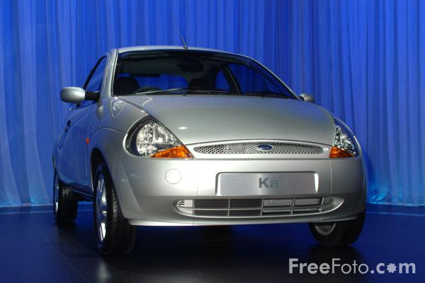 Picture of Ford Ka, Birmingham International Motor Show 2002 - Free Pictures - FreeFoto.com