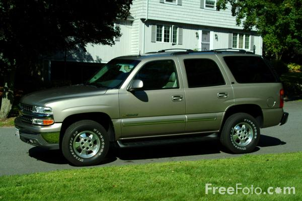 Picture of Chevrolet Tahoe SUV - Free Pictures - FreeFoto.com