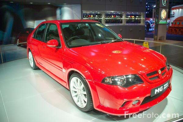 Picture of MG ZS - Free Pictures - FreeFoto.com