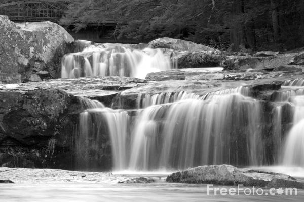 Picture of jackson falls wildcat river jackson new hshire free