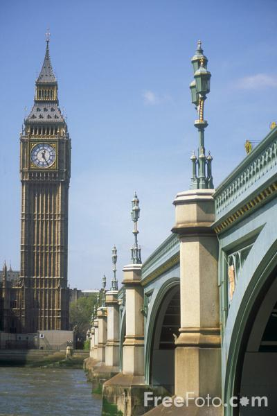 Picture of Westminster Bridge, London, United Kingdom - Free Pictures - FreeFoto.com