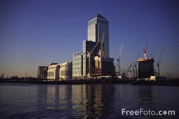 Picture of Canary Wharf, London, United Kingdom - Free Pictures - FreeFoto.com