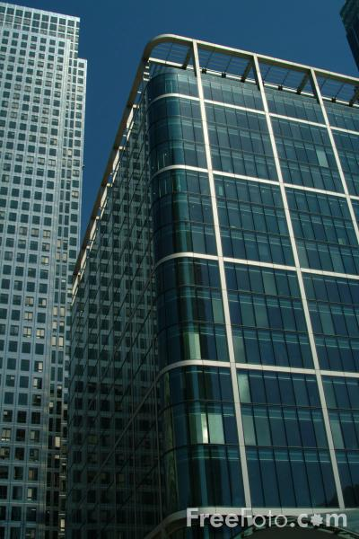 Picture of Canary Wharf, Docklands, London, United Kingdom - Free Pictures - FreeFoto.com