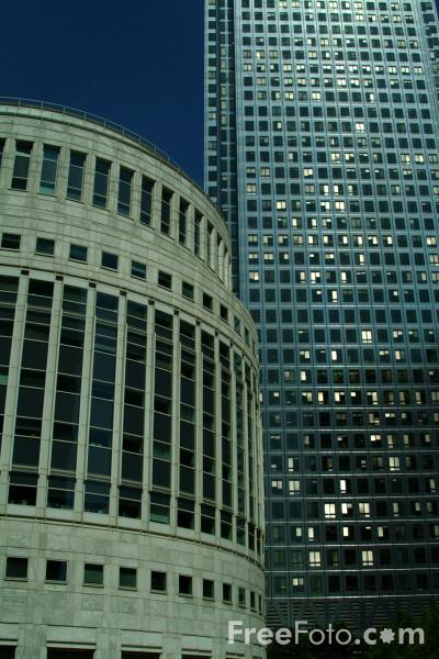 Picture of Canary Wharf, London, - Free Pictures - FreeFoto.com